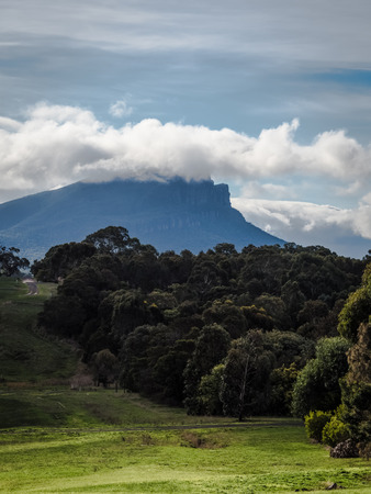 The grampians in Victoria Australia on a winters day