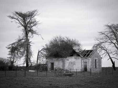 abandoned farmhouse abandoned farmhouse: old abandoned farmhouse in Dartmoor, country Victoria australia