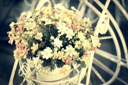 decor: Beautiful wedding flower decor.