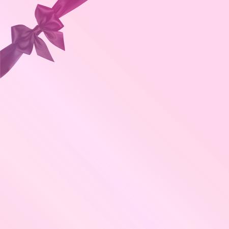 burnished: ribbon pink background Stock Photo