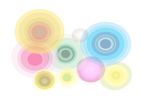 flux: abstract background colour Illustration