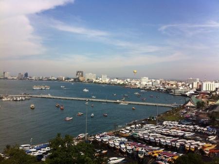 pattaya thailand: Marina in Pattaya Thailand Stock Photo