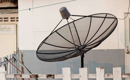 Satellite installation on the ground to communication