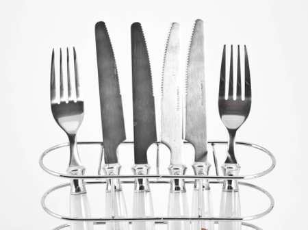 Kitchenware set isolated on white background