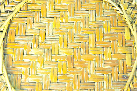 Texture, Background from basketwork with bamboo