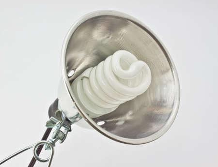 droplight: La lampada a pinza su sfondo bianco