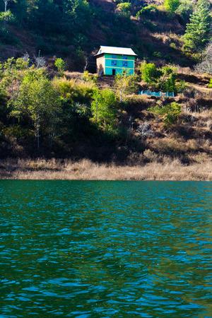 Blue Lake House Stock fotó