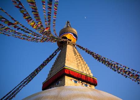 Boudhanath stupa the biggest buddhist stupa in Kathmandu city - Nepal