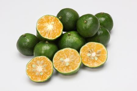 일본 오키나와시 쿠와 사 히라 미 레몬