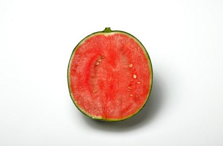 児玉スイカ スイカ種子が少ない 写真素材 - 82027281