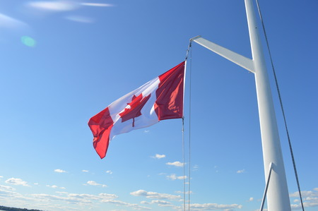 canada country: Canada country flag Stock Photo