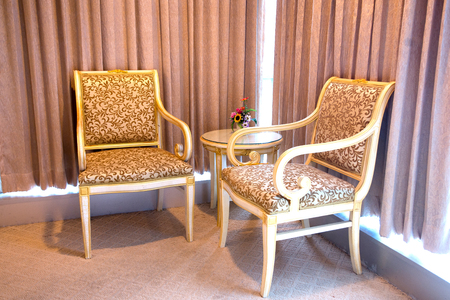 blockbuster: chairs Stock Photo