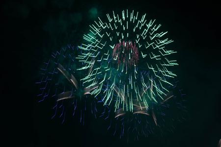 firework background.