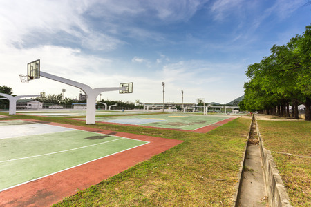 fort collins: basketball court in high school