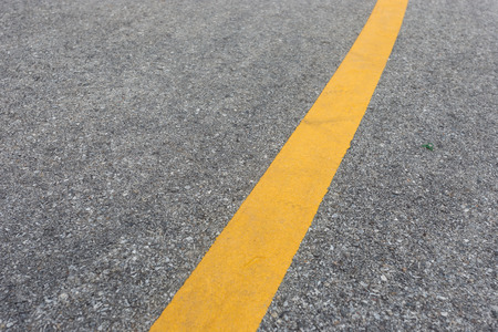 yellow line: yellow line on road