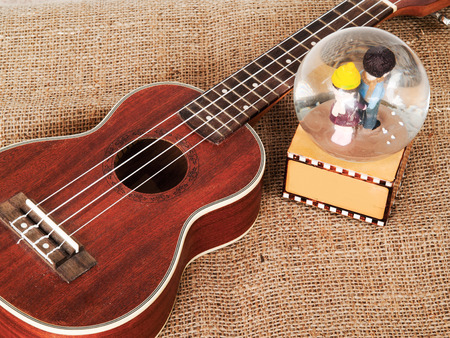 melodic: Ukulele is a melodic instrument.