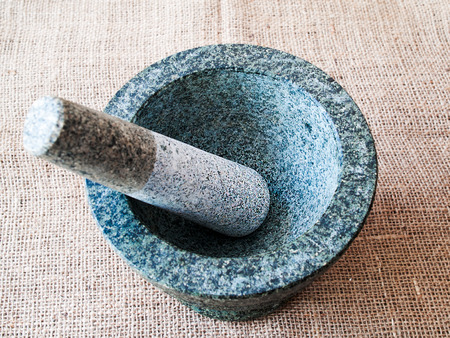 grind: Stone mortar, equipment used to grind food of all kinds.