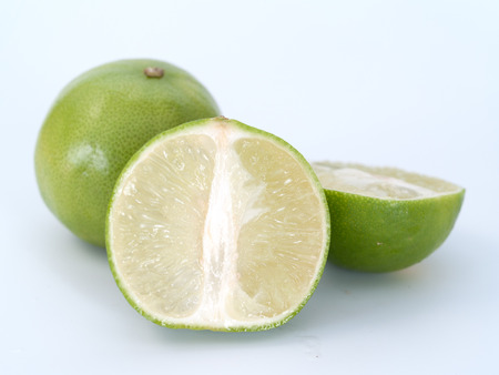 shrub: limes, shrub species in the family Rutaceae small sour fruit used for cooking.