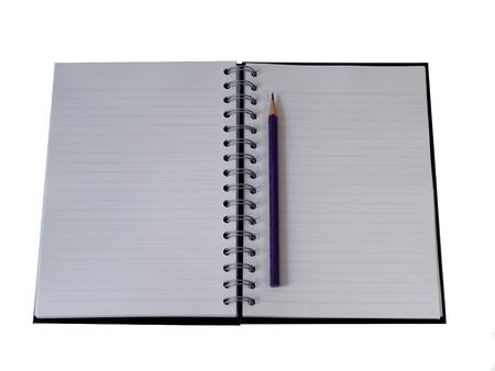 Zijn dagboek, multifunctionele Diary Schrijf alles Stockfoto