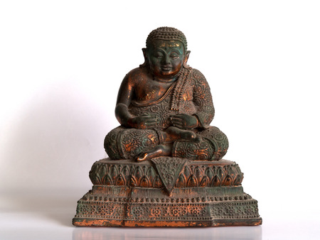 inspired: happy Buddha ,The saint who inspired fortune and wisdom towards immortality.