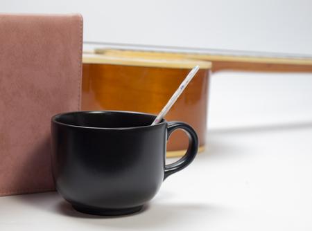 afternoon cafe: Tarde de café, bebidas refrescantes Si bien el trabajo