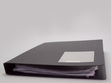 categorize: document file , placed on a white background. Stock Photo