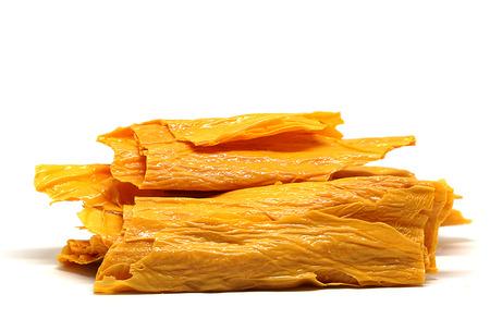Dried Tofu Skin For Cooking ,Healthy Food Stock fotó