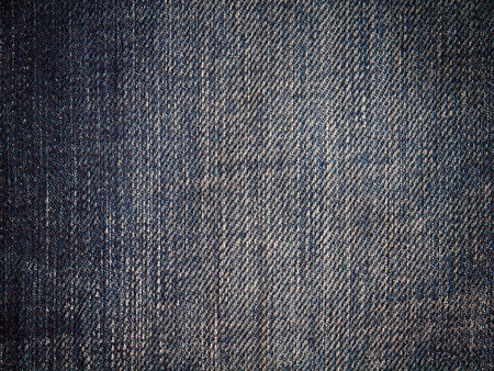 Blue denim textile texture , Used for background image , Or design work.