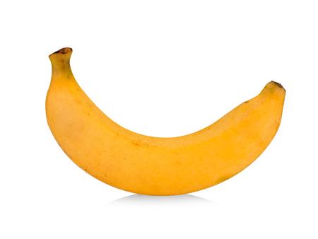 Cavendish bananas isolated on white