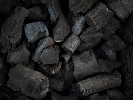 raw black coal for background. (Industrial coals) 写真素材