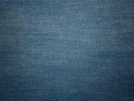 Hintergrund der Blue Jeans-Denim-Textur. (Verwendet für Hintergrundbild oder Designarbeit)