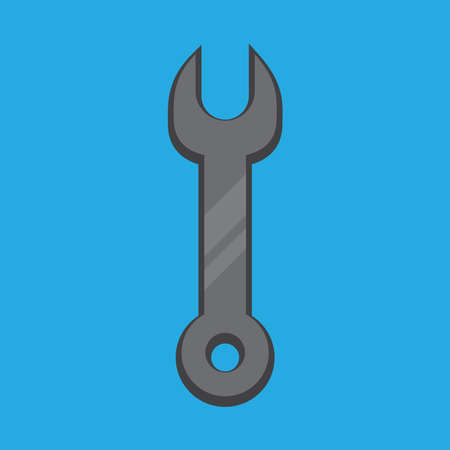 wrench icon , vector illustration.