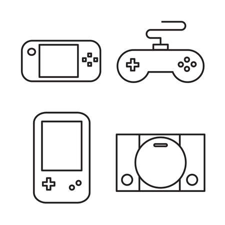 symbol icon Game player vector illustration.