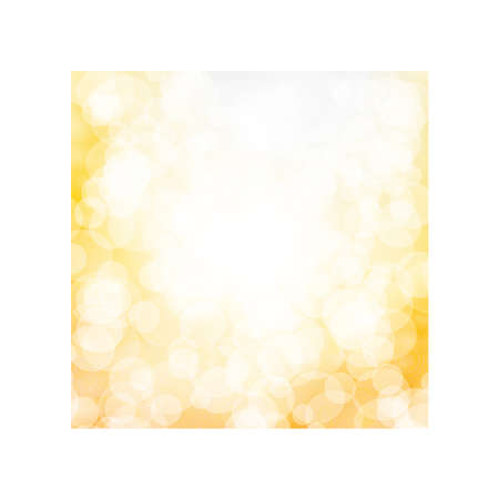 Vector abstract bokeh background. Festive defocused lights.  イラスト・ベクター素材
