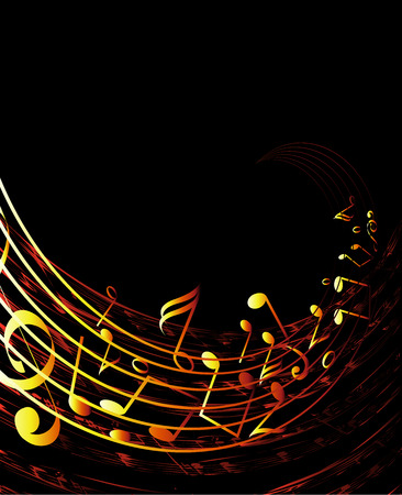 musical background Stock Vector - 2791594
