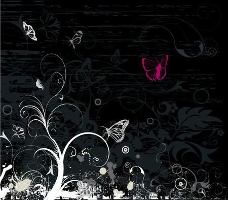 grunge emo style background Illustration