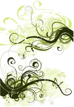 vector grunge design lements Illustration