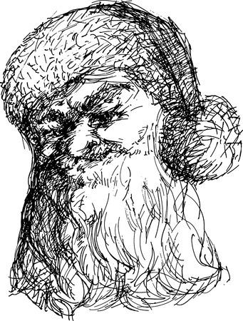 Santa Claus caricatura Foto de archivo - 3960516