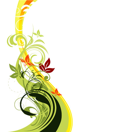 vector floral background Stock Vector - 4232729