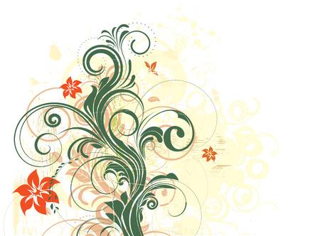 floral bacground Illustration