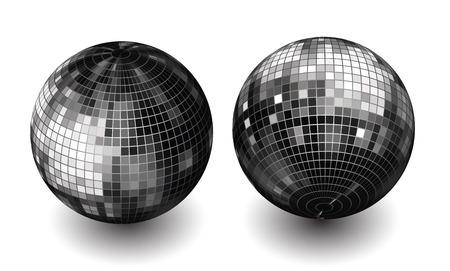 disco ball revolved Vector