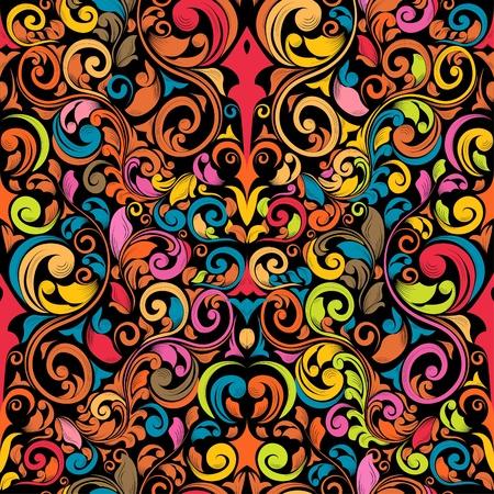funky seamless pattern