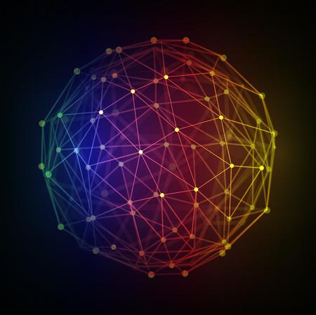 Polygonal 3d Globe