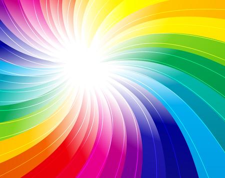 Rainbow Ray pattern