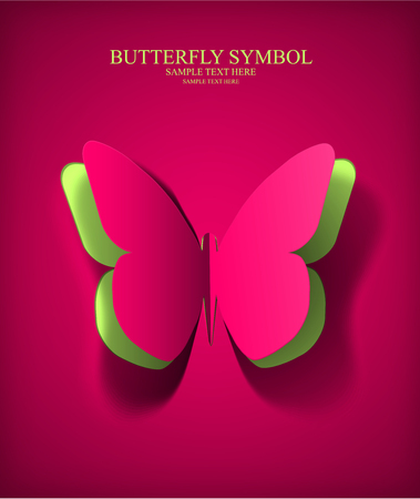 Paper Cut Out Butterfly