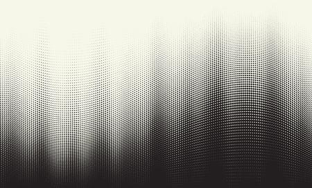 Halftone gradient illustration.