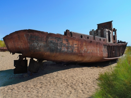 Ship Graveyard Stock Photos And Images - 123RF