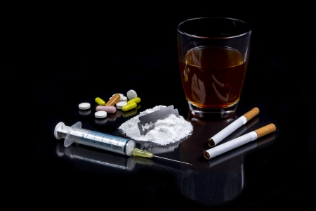 substance: Collection of different hard drougs Heroin, Pills, Tobacco and Alcohol