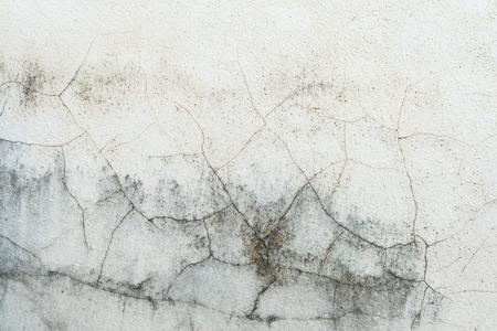 White walls cracking.