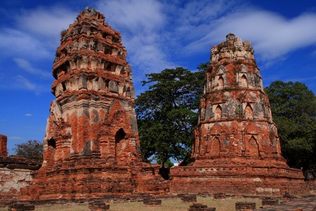 Historic Ayutthaya Stock Photo